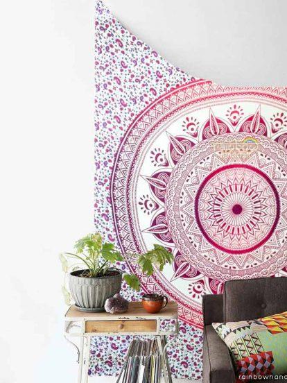 pink-flower-mandala-tapestry