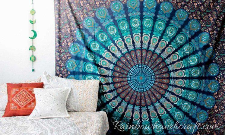 bohemian-mandala-tapestry