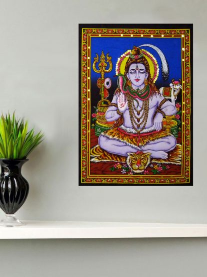 shiva wall tapestry