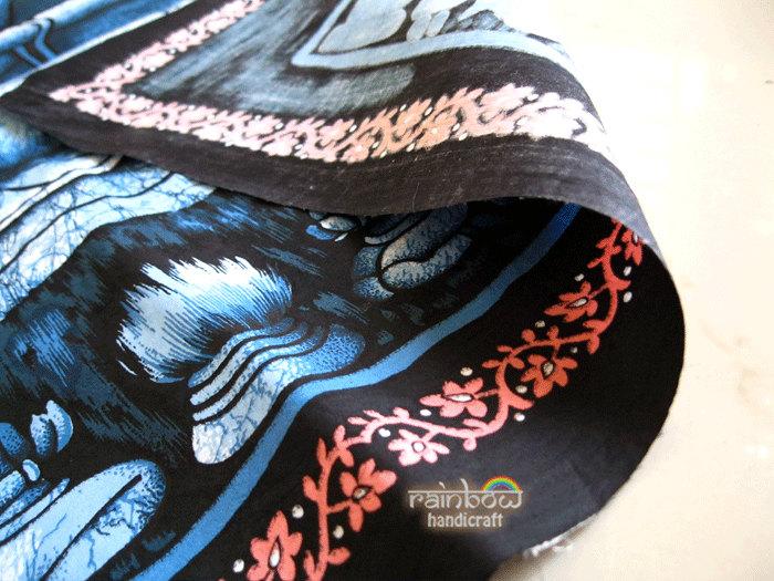 cotton batik painting