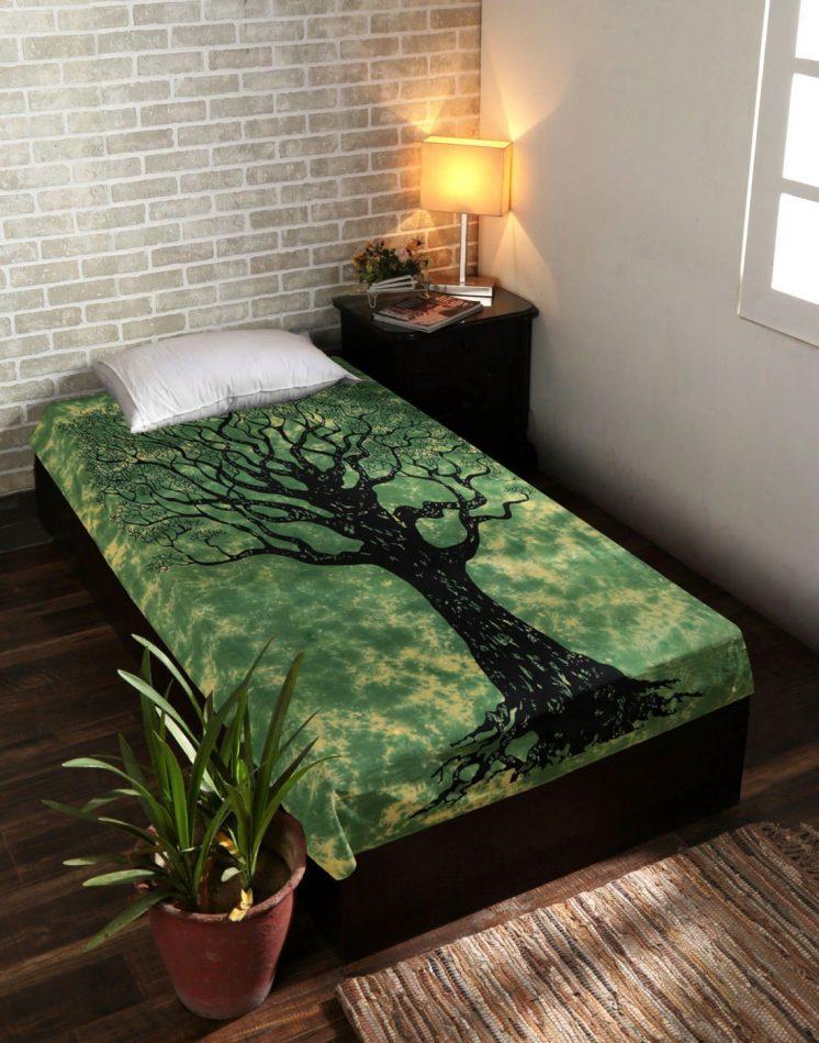dry tree of life bedspread